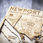 "Newport Beach (8""W x 10""H x 1.5""D)"