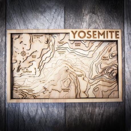 """Yosemite (8""""W x 13""""H x 1.5""""D)"""