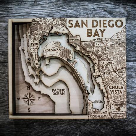 """San Diego (7""""W x 8""""H x 1.5""""D)"""