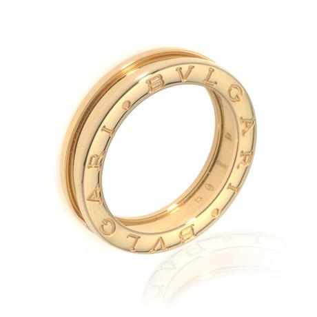 Bulgari 18k Yellow Gold B Zero Ring // Ring Size: 5.5 // Store Display