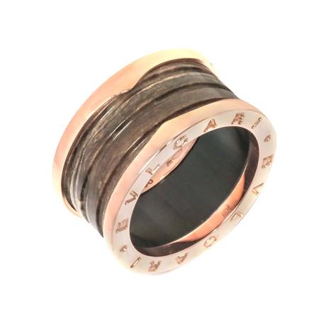 Bulgari 18k Rose Gold B.zero 4 Band Ring // Store Display (Ring Size: 6.25)