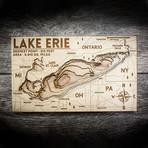 """Lake Erie (7""""W x 11""""H x 1.5""""D)"""
