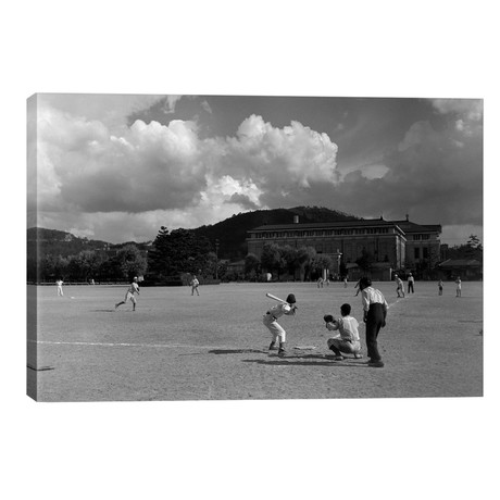 1930s American Sport Baseball Game Being Played In Kyoto Japan // Vintage Images