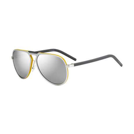 Men's NLW-M3 Sunglasses // Silver + Yellow