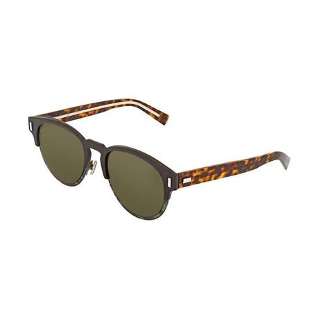Men's Black Tie 2.0 Sunglasses // Tortoise + Brown + Green Camo