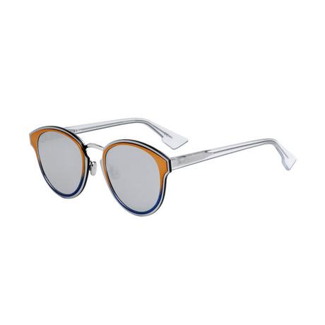 Women's Nightfall Sunglasses // Silver + Multicolor