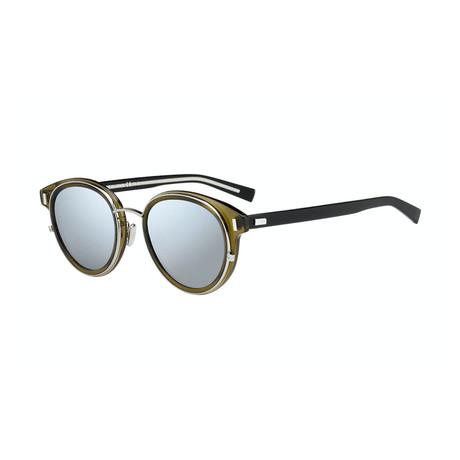 Men's Black Tie 2.0 Sunglasses // Silver + Olive + Black