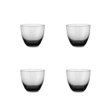 Orient Glass // Set of 4 (Gray)