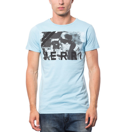 Stampata T-Shirt // Sky (S)