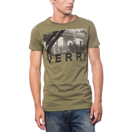 Stampata T-Shirt // Army (S)