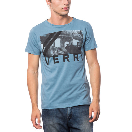 Stampata T-Shirt // Denim (S)