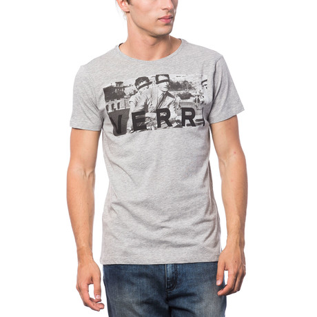 Stampata T-Shirt // Heather Gray (S)
