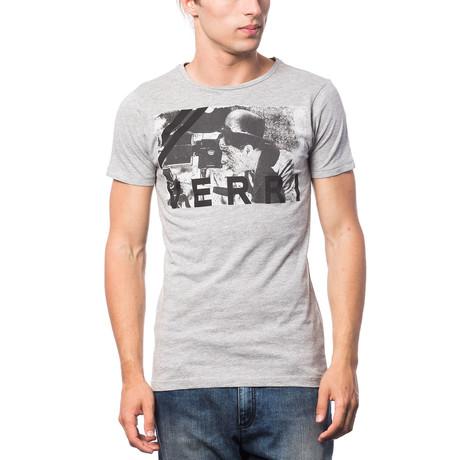 Stampata T-Shirt // Pearl Gray + Black (S)