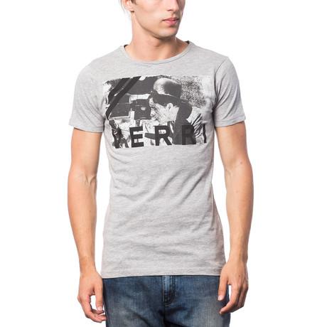 Stampata T-Shirt // Gray + Black (S)