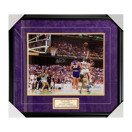 Magic Johnson // Autographed Photo Display