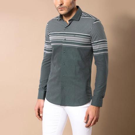 Camden Slim-Fit Shirt // Green (S)