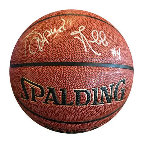 Spud Webb // Autographed Basketball