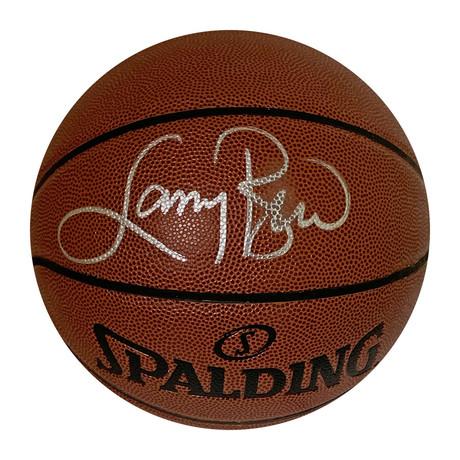 Larry Bird // Autographed Basketball