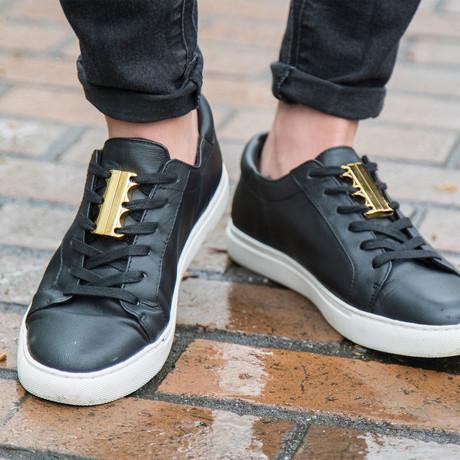 Zubits Magnetic Shoe Closures // Gold (Size 1)