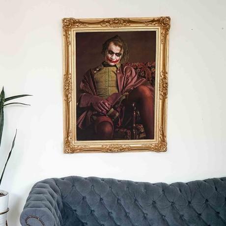 """Joker // Gold Frame (30""""H x 25""""W x 2.3""""D)"""