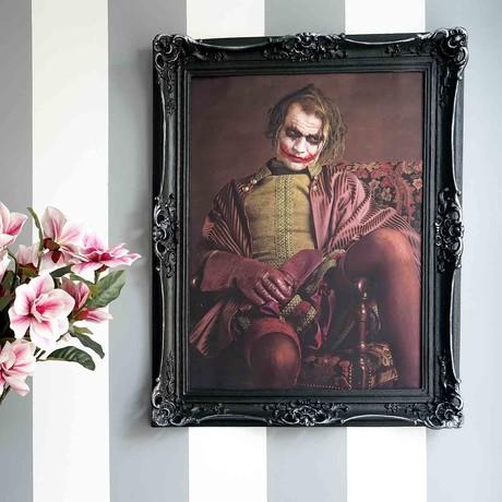 """Joker // Black Frame (30""""H x 25""""W x 2.3""""D)"""