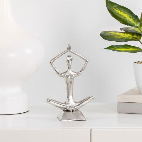 Zen Yoga Sculpture // Arms Up