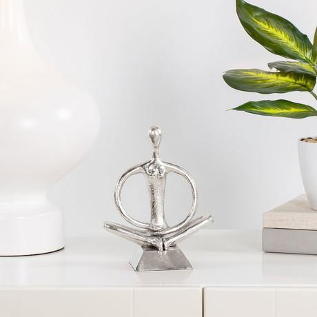 Zen Yoga Sculpture // Arms Down