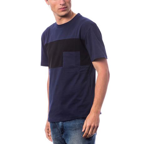 Manica Corta T-Shirt // Navy Blue (S)