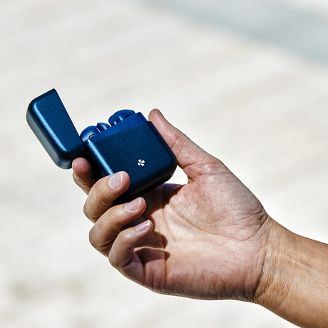 Zebuds Premium // TWS Earphones + Charging Case // Navy Blue