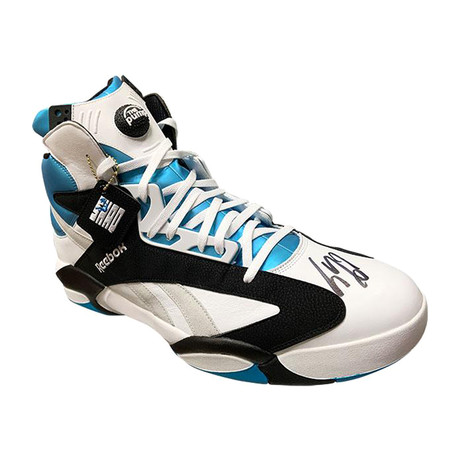 Shaquille O'Neal // Autographed Reebok Pump Shoe // Size 22