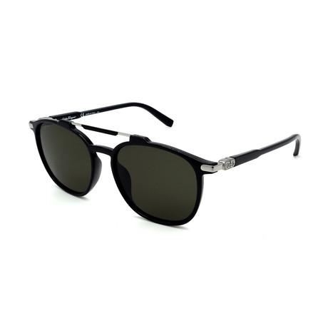 Men's SF893S-001 Sunglasses // Black + Silver