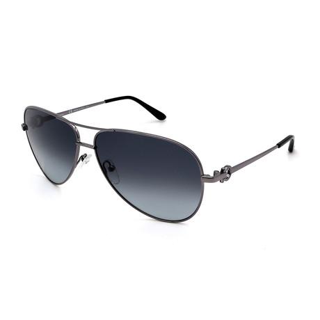 Men's SF167S-033 Sunglasses // Silver + Gray Gradient