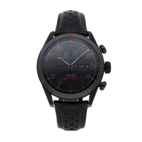 Oris Audi Sport Chronograph Automatic // 01 778 7661 7784-Set LS // Pre-Owned