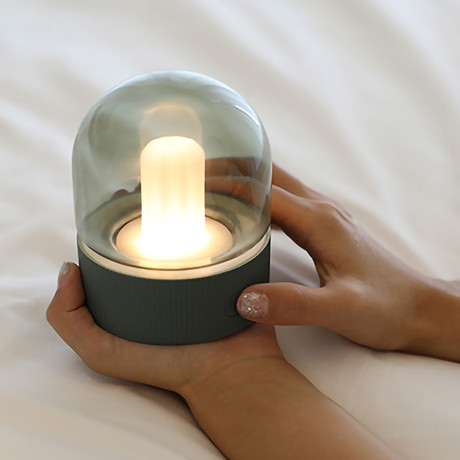 Adjustable Button Lamp (Olive)