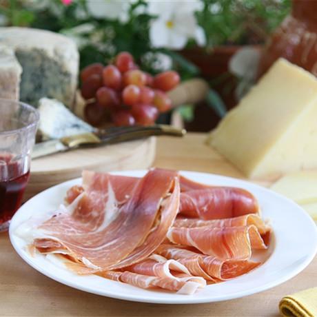 Serrano + Iberico Ham Slices
