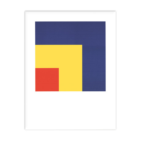 Ellsworth Kelly // Red, Yellow, Blue // Offset Lithograph