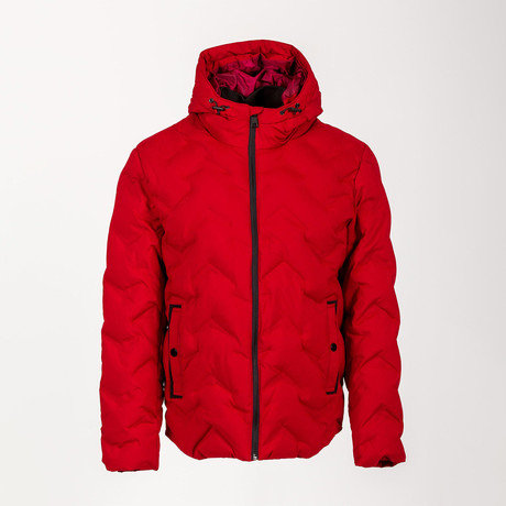 Puff Jacket // Red (Euro: 46)