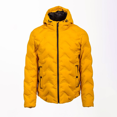 Puff Jacket // Yellow (Euro: 46)