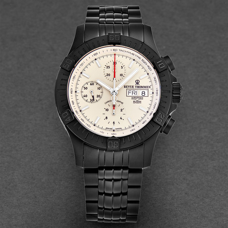 Revue Thommen Airspeed Xlarge Chronograph Automatic // 16071.6178 // New