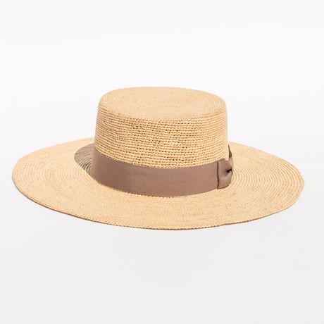 Playa Crochet // Beige Straw (S)