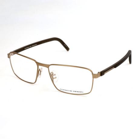 Men's P8300 Optical Frames // Gold