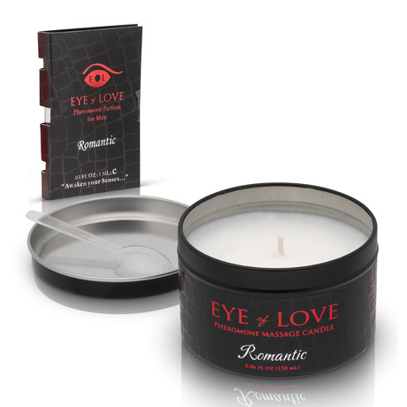 Pheromone Massage Candle // Romantic