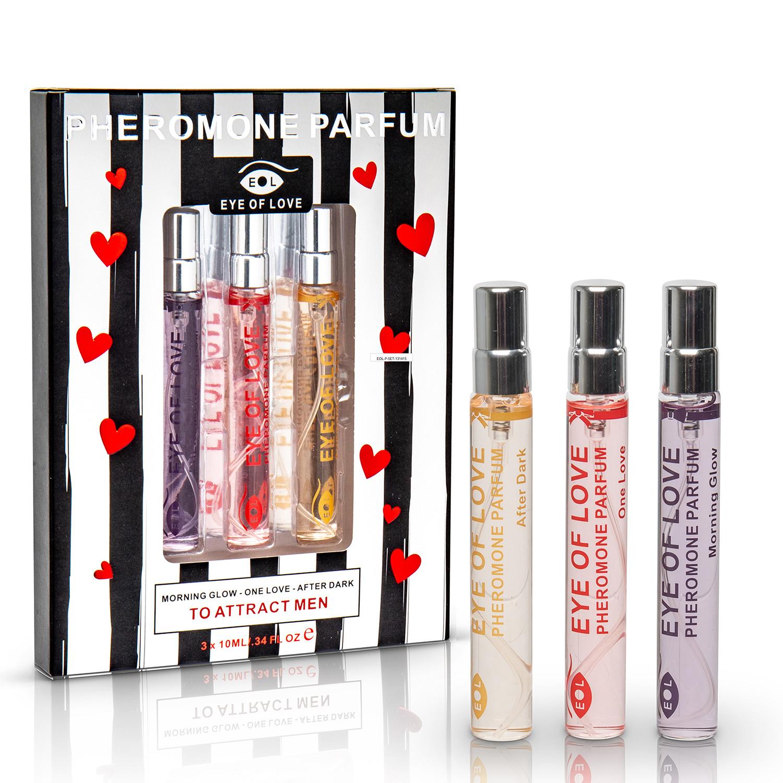 Pheromone Perfume // Set of 3 // For Women - Eye of Love