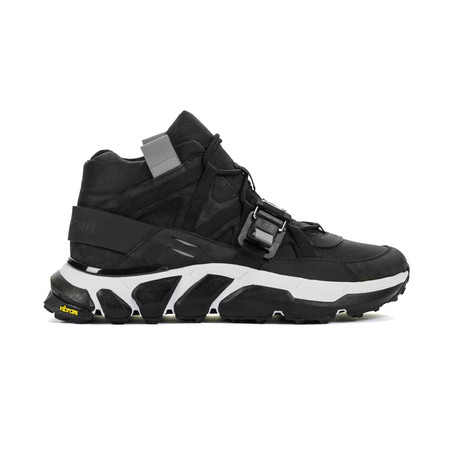 The Archer High Top Sneaker // Black (US: 7)