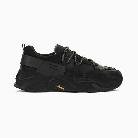 The Hollen Black Soul Sneaker // Black (US: 7)