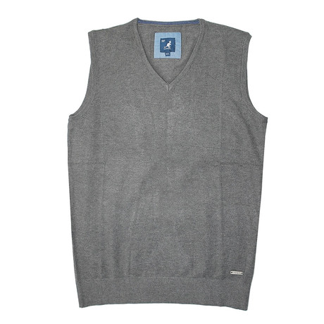 Premium Super Soft 12 Gauge Sweater Vest // Charcoal (S)