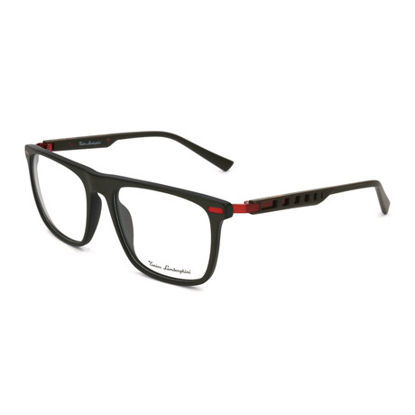Men's TL911V Optical Frames // Brown + Red