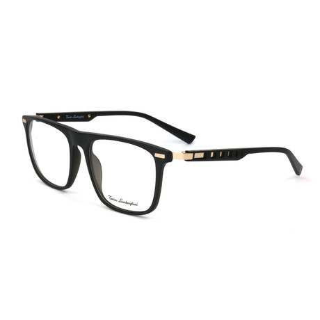 Men's TL911V Optical Frames // Black + Gold