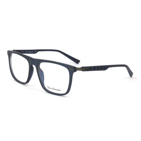 Men's TL911V Optical Frames // Blue + Silver