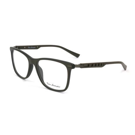 Men's TL309V Optical Frames // Brown + Silver